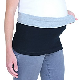 Inspired Mother® Reversible Tummy Band in Grey/Black