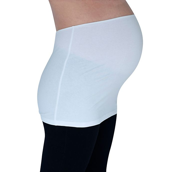 Alternate image 1 for Inspired Mother® Tummy Band in White