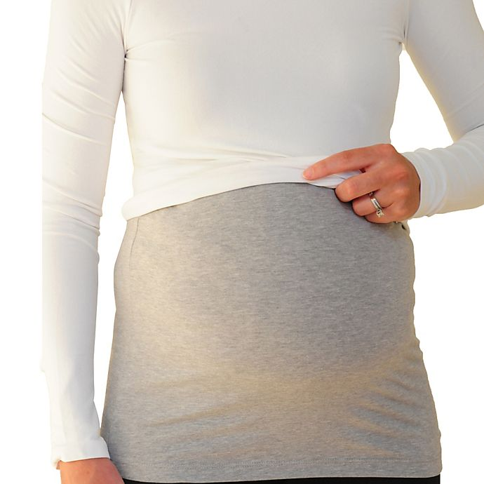 Alternate image 1 for Inspired Mother® Tummy Band in Grey