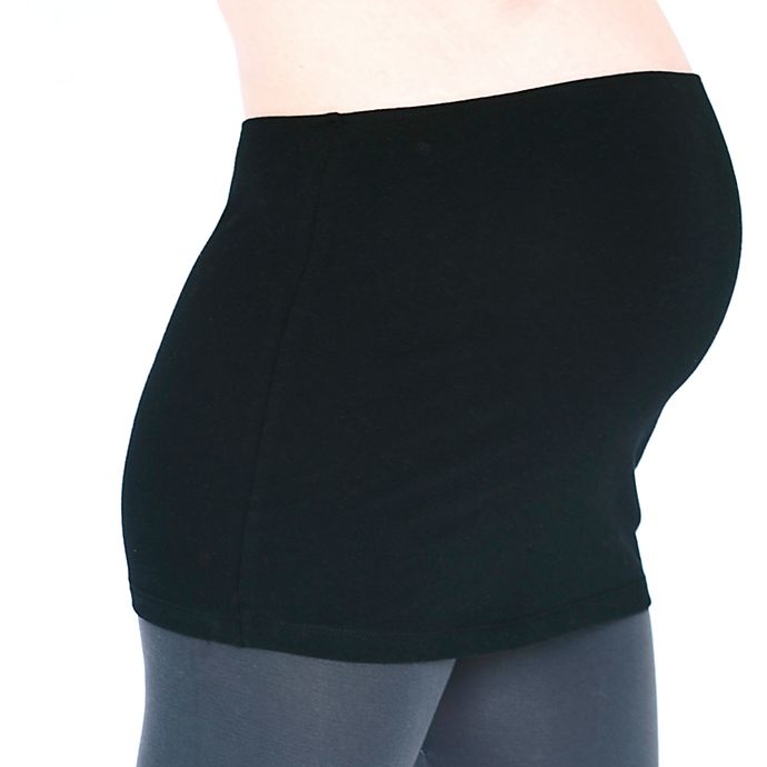 Alternate image 1 for Inspired Mother® Size Small Tummy Band in Black