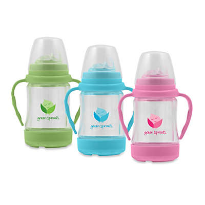 green sprouts® Glass Sip 'n Straw Cup