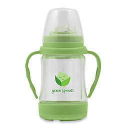 green sprouts® Glass Sip 'n Straw Cup in Lime