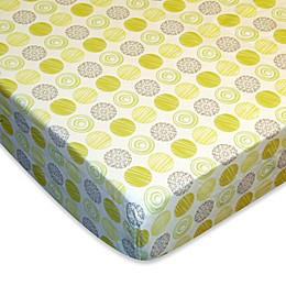 Laugh, Giggle & Smile Zen Garden Fitted Crib Sheet