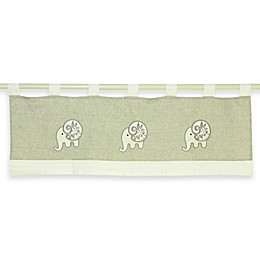 Laugh, Giggle & Smile Elephant Chic Window Valance