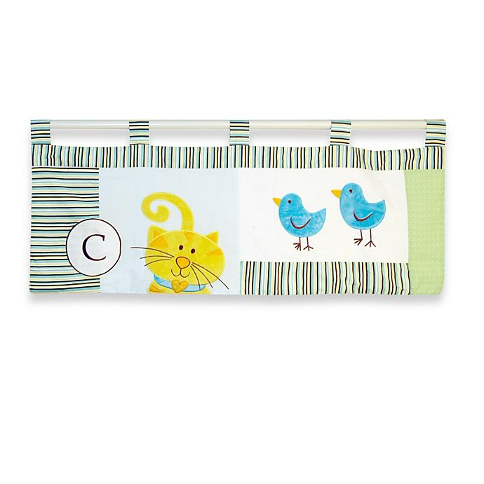 Alternate image 1 for New Country Home  Laugh, Giggle & Smile ABC Animal Friends Valance