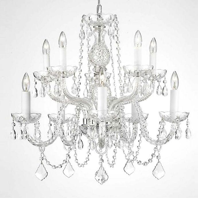 Alternate image 1 for Gallery Crystal 10-Light Chandelier