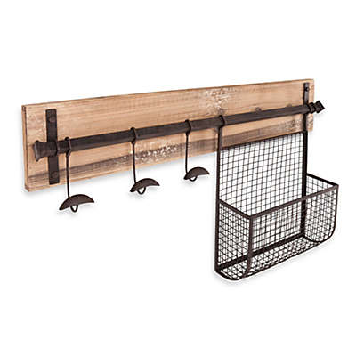 Southern Enterprises Entryway Wall Mount Storage