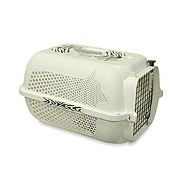 Dogit® White Tiger Voyageur Large Pet Carrier in White