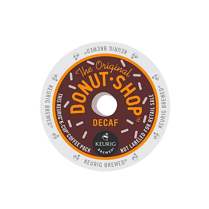 Alternate image 1 for Keurig® K-Cup® Pack 18-Count The Original Donut Shop® Decaf Coffee
