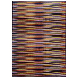 Oriental Weavers Pantone Prismatic Geo Rug in Plum