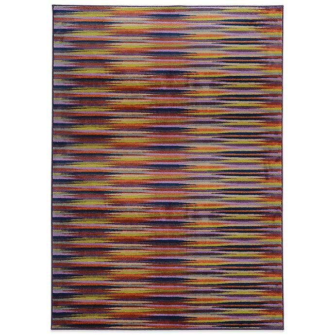 Alternate image 1 for Oriental Weavers Pantone Prismatic Geo 7-Foot 10-Inch x 10-Foot 10-Inch Rug in Plum