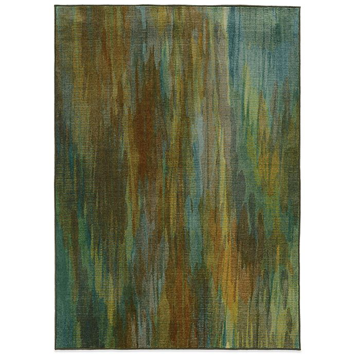 Alternate image 1 for Oriental Weavers Pantone Prismatic Watercolor Rug