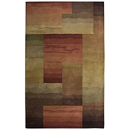 Rizzy Home Colours Rug in Brown