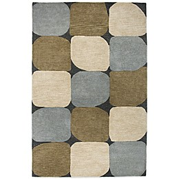 Rizzy Home Colours Rug in Slate Blue
