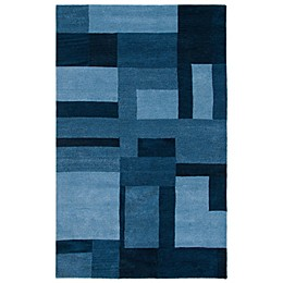 Rizzy Home Colours Rug in Blue