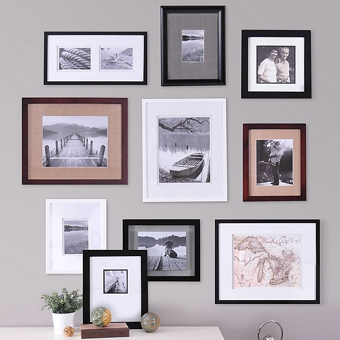 Real Simple 10 Piece Portrait Frame Set Bed Bath Beyond