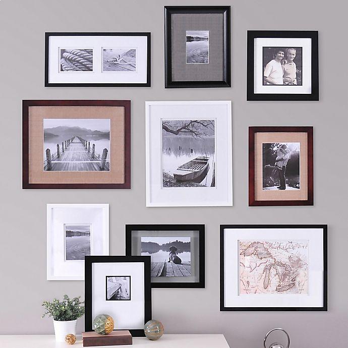 Real Simple 10 Piece Portrait Frame Set Bed Bath Beyond