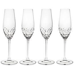 Godinger Dublin Reserve Champagne Flutes (Set of 4)