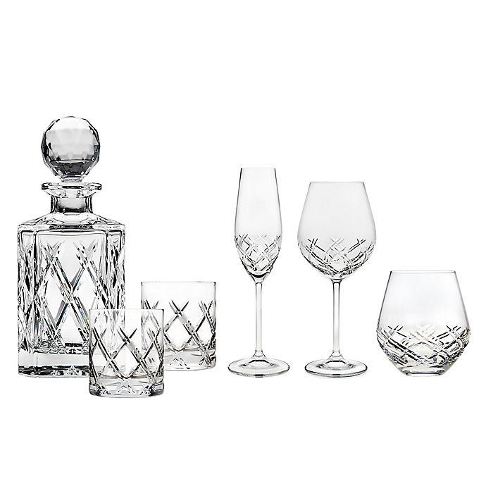 Alternate image 1 for Top Shelf Bevel Crystal Wine & Bar Collection