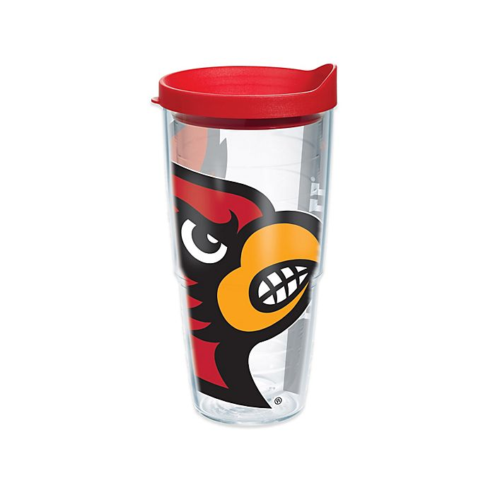 Alternate image 1 for Tervis® University of Louisville Cardinals 24 oz. Colossal Wrap Tumbler with Lid
