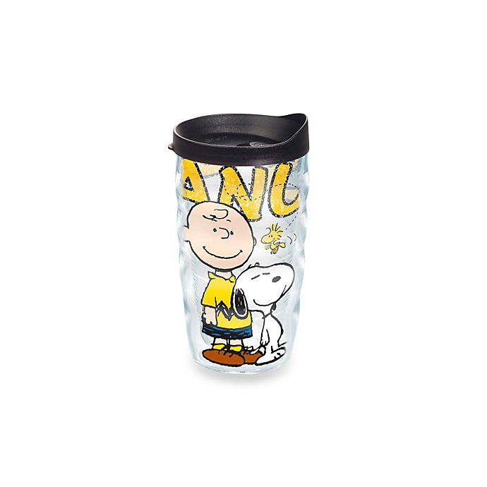 Alternate image 1 for Tervis® Charlie Brown and Snoopy 10 oz. Wavy Wrap Tumbler with Lid