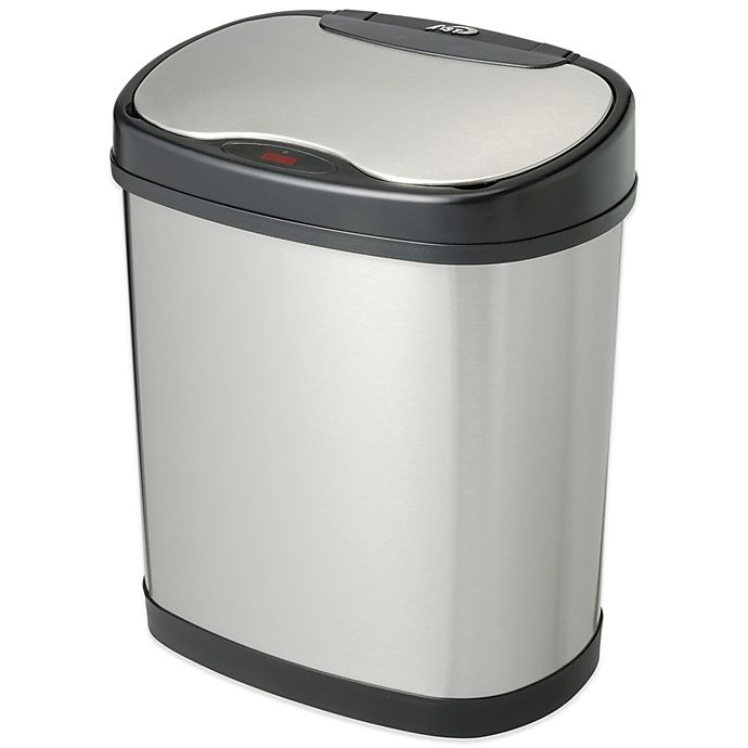 Alternate image 1 for 3.2 Gallon Motion Sensor Trash Can