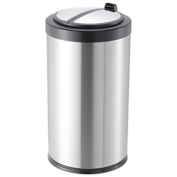 Alternate image 1 for 3.2 Gallon Round Motion Sensor Trash Can