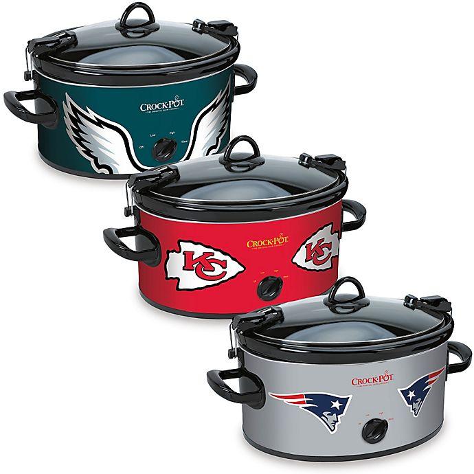 NFL Crock-Pot® Cook   Carry™ 6-Quart Slow Cooker  00e654d6c