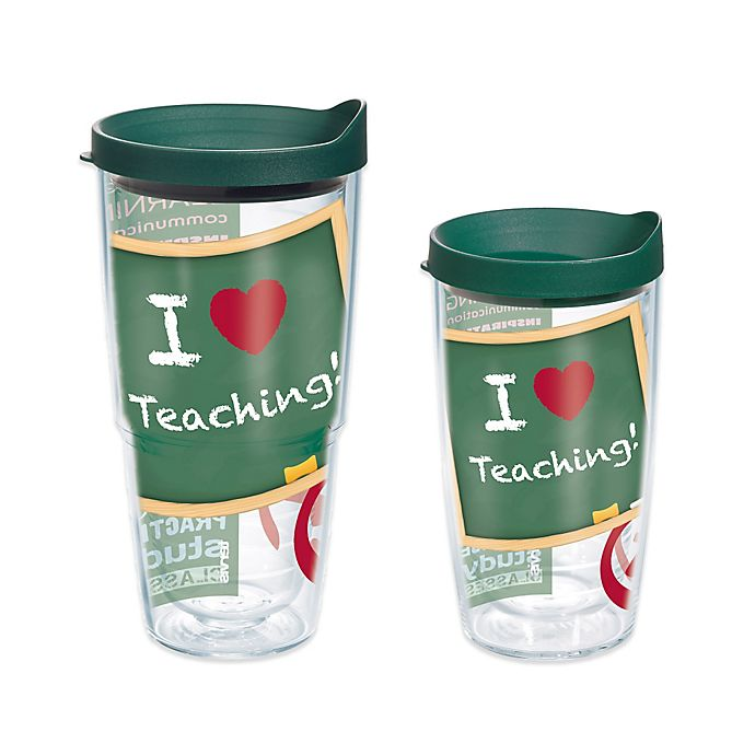 Alternate image 1 for Tervis® Teacher Wrap Tumbler with Lid