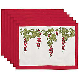 Couleur Nature® Gooseberry Placemats (Set of 6)