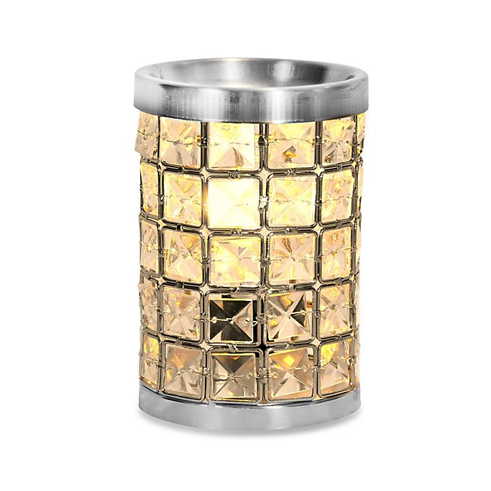 Alternate image 1 for Crystal Accent Wax Warmer