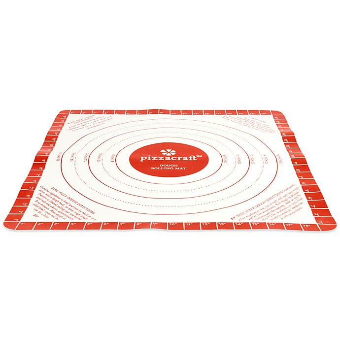 Pizzacraft Silicone Pizza Dough Rolling Mat Bed Bath Beyond