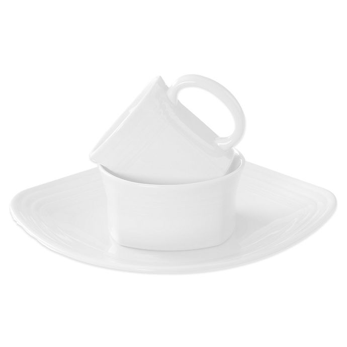 Alternate image 1 for Fiesta® Square Dinnerware Collection in White