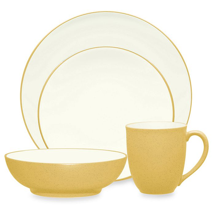Alternate image 1 for Noritake® Colorwave Coupe Dinnerware Collection in Mustard