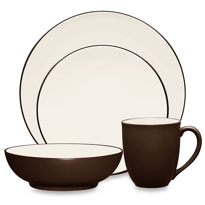 Alternate image 1 for Noritake® Colorwave Coupe Dinnerware Collection in Chocolate