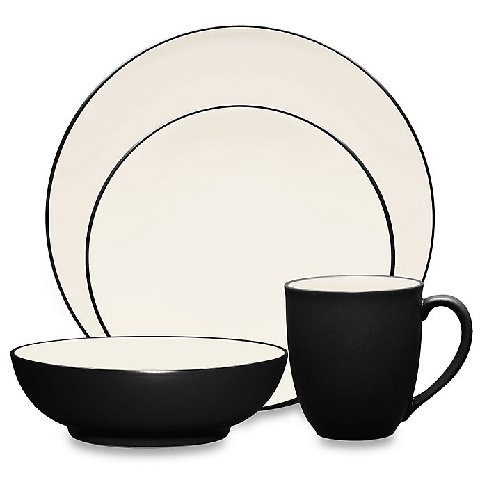 Alternate image 1 for Noritake® Colorwave Coupe 4-Piece Place Setting in Graphite