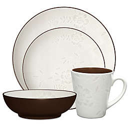 Noritake® Colorwave Bloom Dinnerware Collection in Chocolate