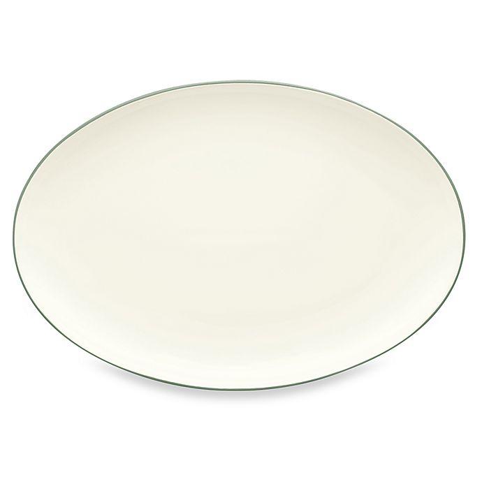 Alternate image 1 for Noritake® Colorwave 16-Inch Oval Platter in Green