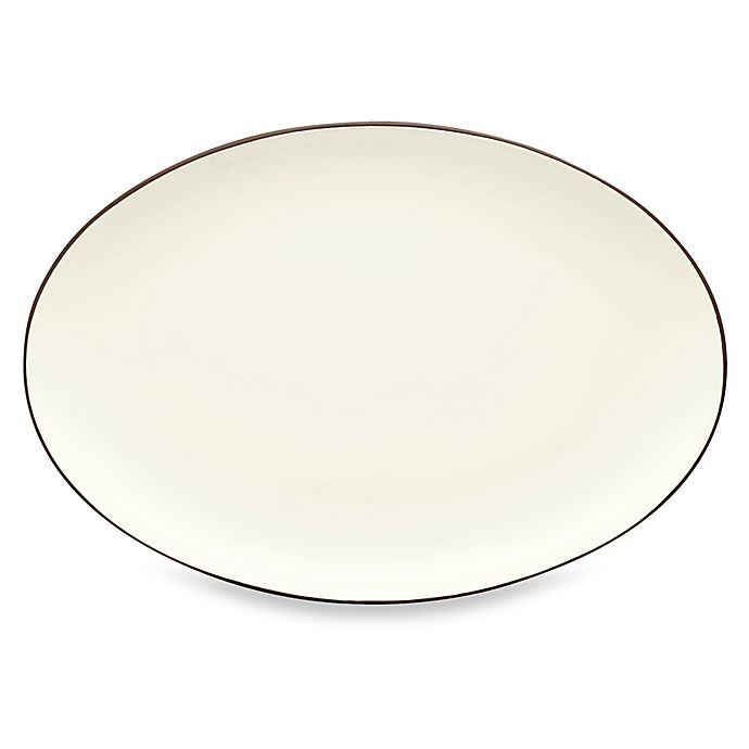 Alternate image 1 for Noritake® Colorwave 16-Inch Oval Platter in Chocolate