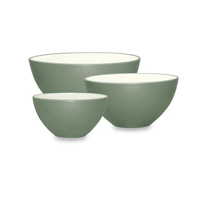Alternate image 1 for Noritake® Colorwave 3-Piece Mixing Bowl Set in Green