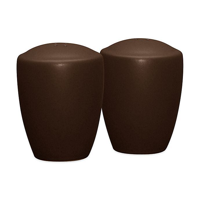 Alternate image 1 for Noritake® Colorwave Salt and Pepper Shakers in Chocolate