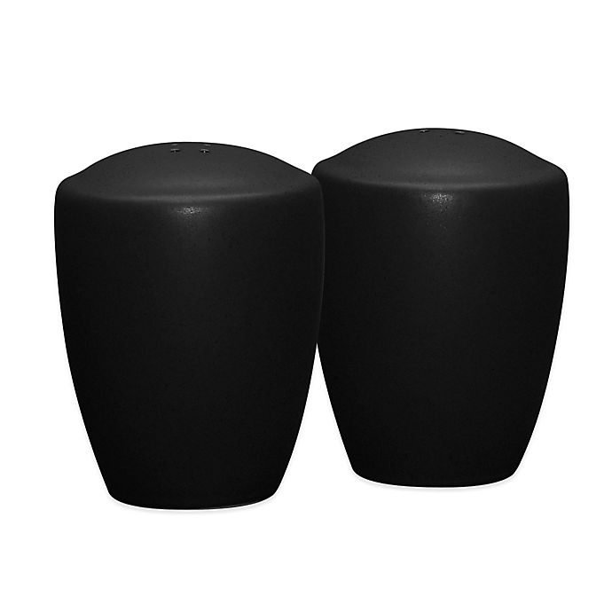 Alternate image 1 for Noritake® Colorwave Salt and Pepper Shakers in Graphite