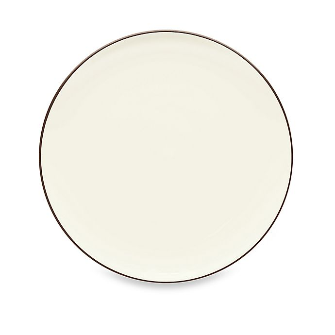Alternate image 1 for Noritake® Colorwave Coupe Dinner Plate in Chocolate