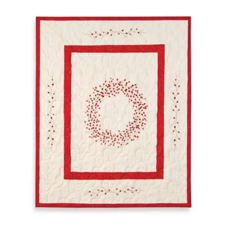 Berry Wreath Quilted Throw Bed Bath Amp Beyond