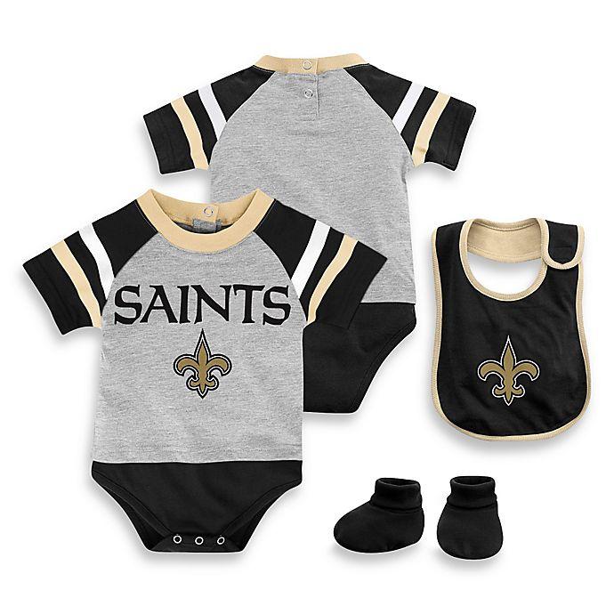 Saints Bathroom Set: NFL New Orleans Saints 3-Piece Creeper Set