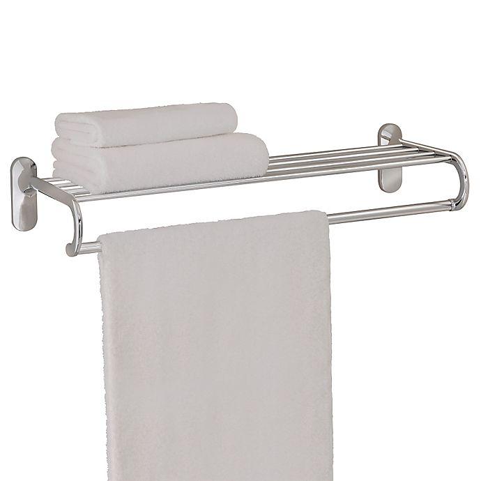 Alternate image 1 for Taymor® 24-Inch European Towel Shelf in Chrome