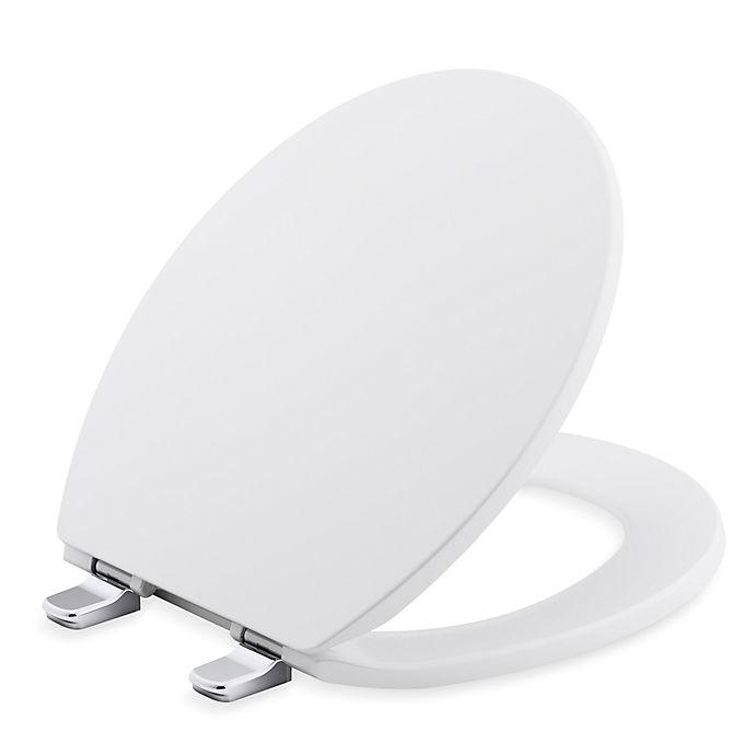 Kohler 174 Brevia 174 Q2 Round Toilet Seat Bed Bath Amp Beyond