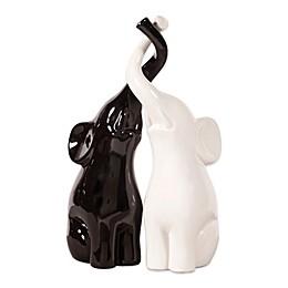 Howard Elliott Elephant Love Ceramic Sculpture Set