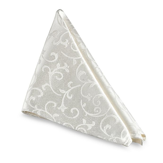 Alternate image 1 for Lenox® Opal Innocence™ Napkin in White
