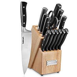 Cuisinart® Triple Rivet 15-Piece Cutlery Knife Block Set